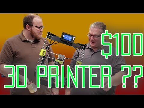 $100 3D Printer Kit! Cheap printer from Amazon! Is the cheapest worth it?