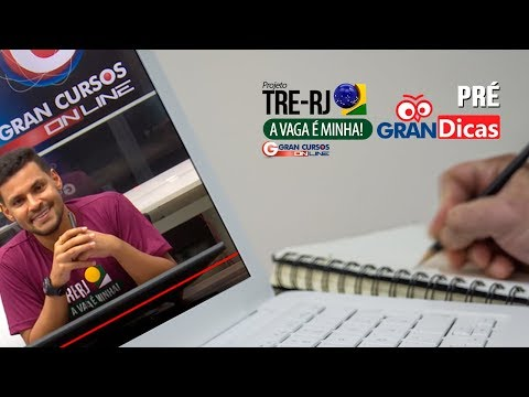 Pré-Gran Dicas TRE-RJ