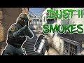 CS:GO - Top 20 Smokes on DUST II !!!