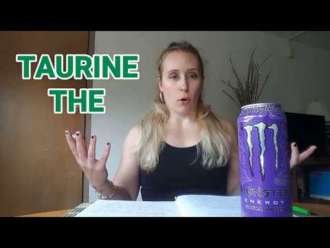 What do TAURINE and CARNITINE do? Science Behind Monster Purple
