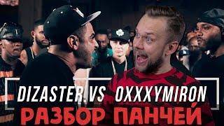 OXXXYMIRON vs DIZASTER: разбор панчей / НОВОСТИ ЗА 300