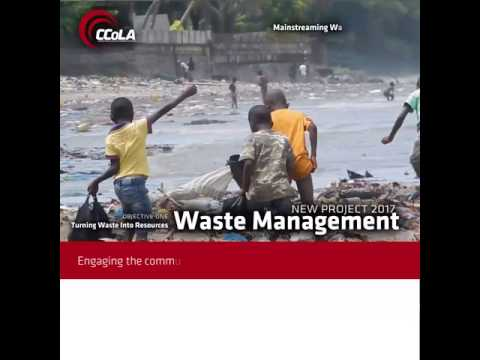 Medical Waste Management in Guinea, a day on the beach
