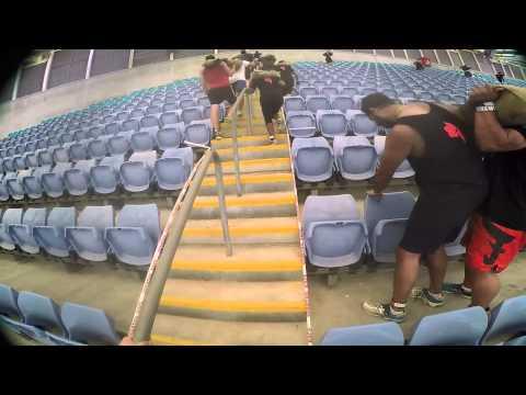 2015 Sydney Spartan Race ANZ Stadium Sprint