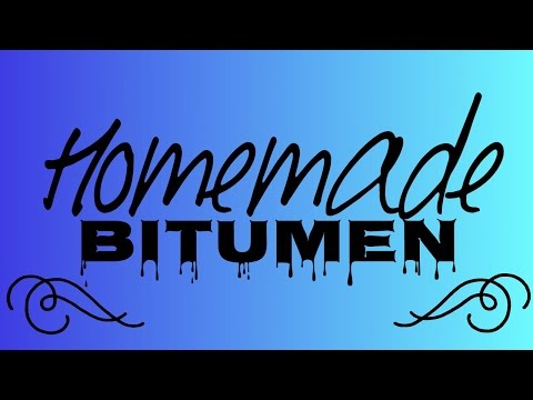 Homemade Bitumen / Eduardo Acuña