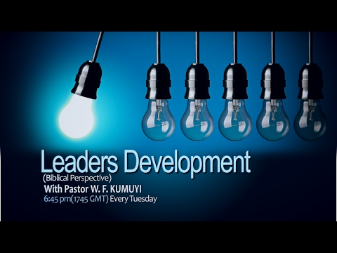 Tuesday Leaders' Development ( Feb., 14, 2017)