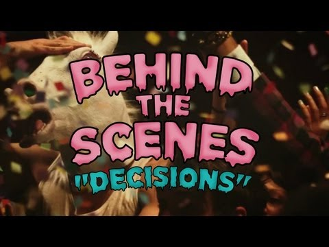 """Behind The Scenes of """"Decisions"""" - the new music video from Borgore feat. Miley Cyrus"""
