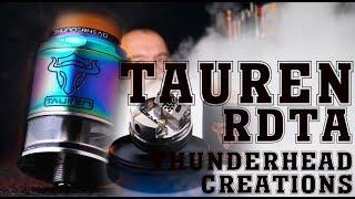 тОПОВАЯ БАКОДРИПКА Tauren RDTA by Thunderhead Creations  from heavengifts.com