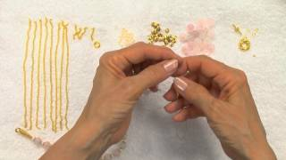 Download Video Golden Rose Beaded Jewelry Tutorial MP3 3GP MP4