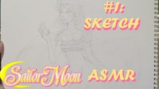 Drawing Serenity / Sailor Moon! Part 1: Sketch (Soft-Spoken Art ASMR)