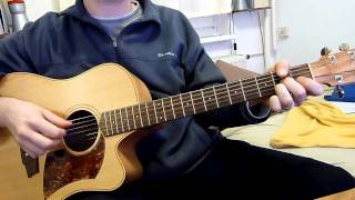 Plain White Ts - Hey There Delilah - acoustic guitar cover by onlyfavoritemusic
