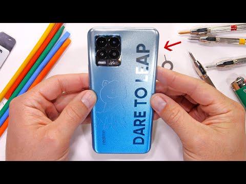 108 Megapixels for $300?! - Smartphone Durability test! - JerryRigEverything
