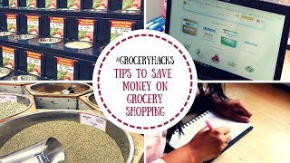 Tips and Tricks to Save Money On Grocery Shopping | Grocery Shopping Life Hacks | Saloni Srivastava