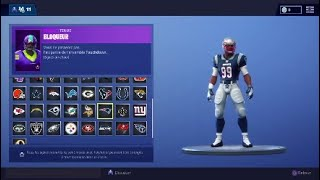 *NEW* FORTNITE NFL SKINS (rugby) 2018