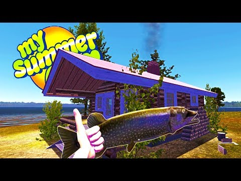 MY SUMMER SURVIVAL! FISHING FOR THE LEGENDARY FINNISH PIKE - My Summer Car Gameplay Highlights Ep 80
