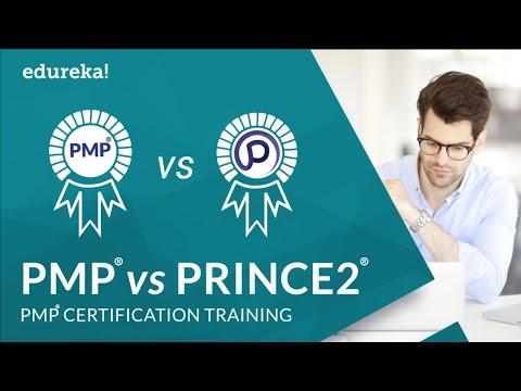 PMP vs PRINCE2 | Project Management Certification | PMP Certification Training | Edureka