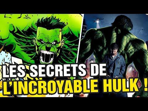 LES SECRETS DU FILM HULK !