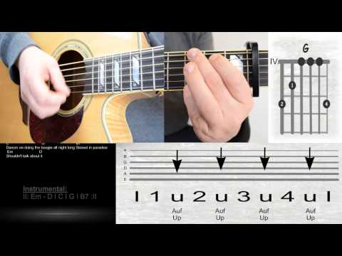 Milky Chance - Stolen Dance / Lyrics / Chords / Guitar Lesson / Tutorial