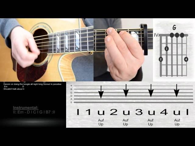 Nice Milky Chance Stolen Dance Chords Composition - Basic Guitar ...