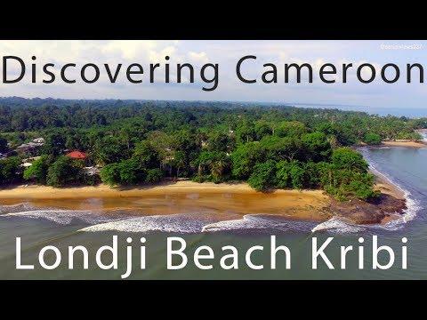 Londji Beach Kribi filmed by aerialviews237