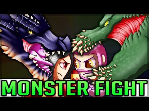 Fatalis VS Deviljho - Pro VS Noob - ULTIMATE TURF WAR - Monster Hunter World! (Lore/Discussion/Fun) thumbnail