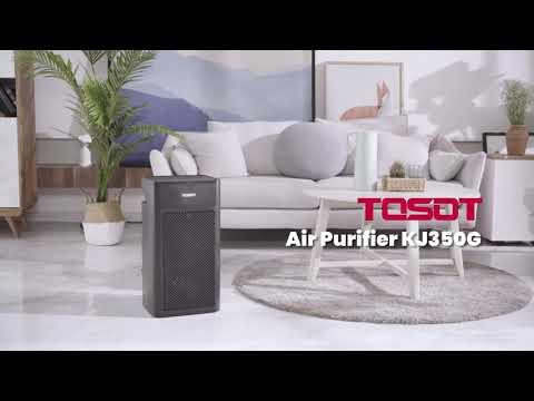 TOSOT KJ350G H13 True HEPA Filter Air Purifier with UV Light video thumbnail