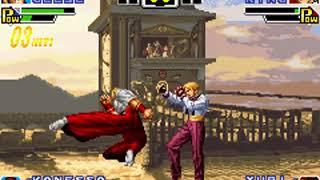 [TAS] GBA The King Of Fighters EX - Geese Howard SinglePlay