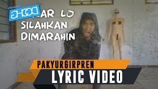 ... ecko show - pakyurgirpren (ft. edgar x rupiah paper) [ lyric video ] please subscribe :
