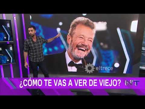 Mirá cómo se ven los famosos argentinos de viejos con la app que hace furor