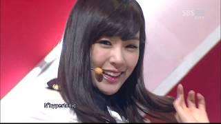 소녀시대 Girls' Generation - MR. TAXI (SBS Inkigayo 111225)