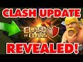 Clash Of Clans | NEW UPDATE INFO REVEALED! 2016 OFFICIAL UPDATE NEWS!