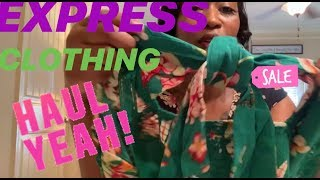 SUMMER EXPRESS CLOTHING HAUL 2019| SHOPPING ON A BUDGET