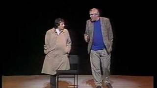 "Peter Cook & Dudley Moore - the ""One-Legged Tarzan"" sketch - '89"