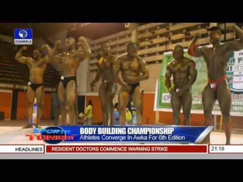 Nigeria's Bodybuilding Nat'l Champion Features On Sports Tonight