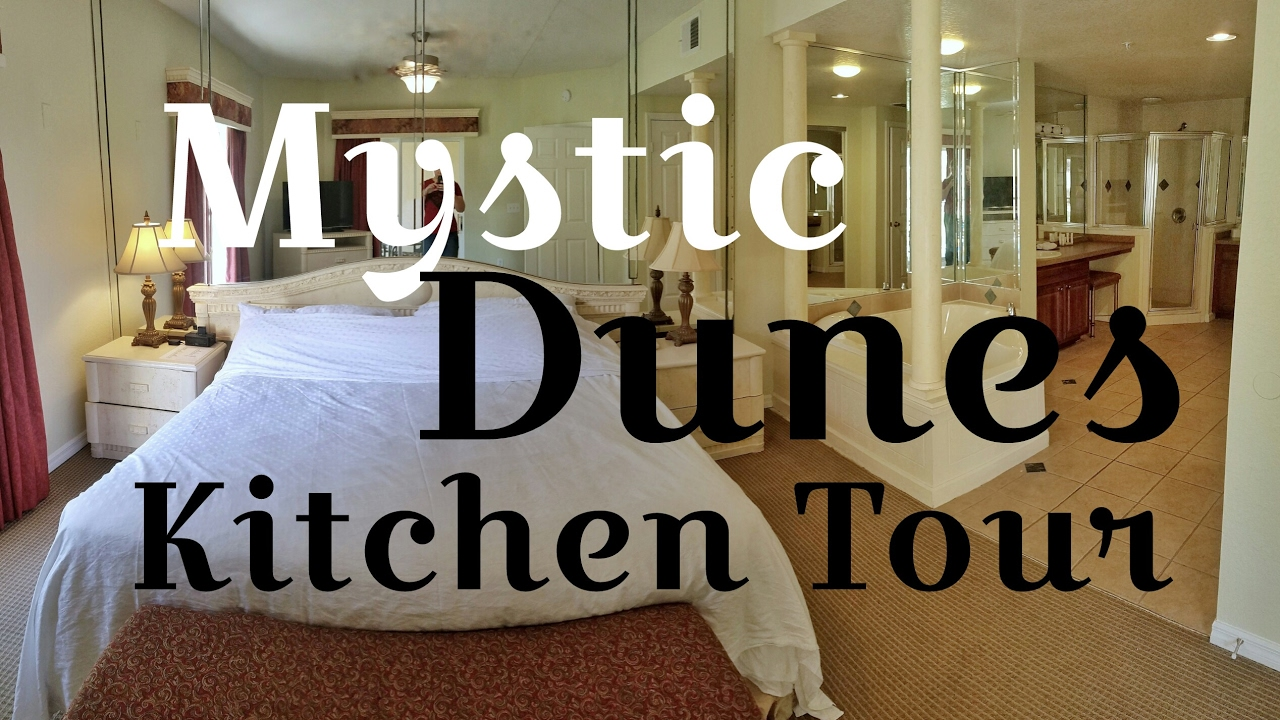 Hotels Near Disney   Mystic Dunes Full Kitchen Tour