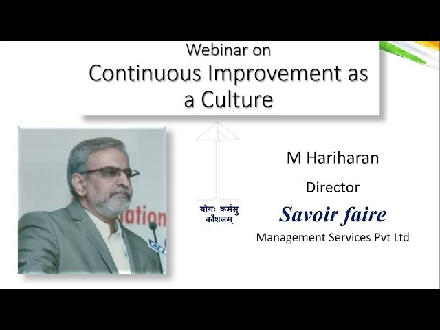 2019 02 18 15 25 Creating a Continuous Improvement Culture