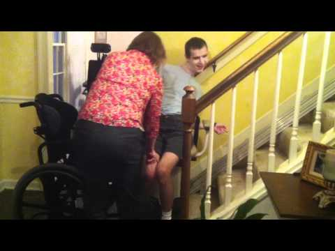 How To Help Transition From A Stairlift To A Wheelchair With Dystonia Part 2