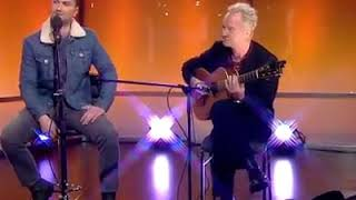 The Night the Pugilist Learned How to Dance live at BBC Breakfast