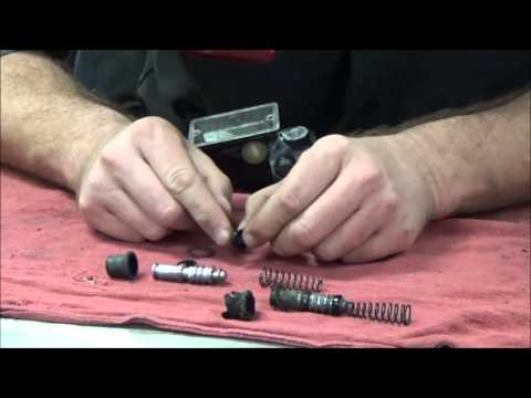 How to rebuild your master cylinder Disassembly and Assembly