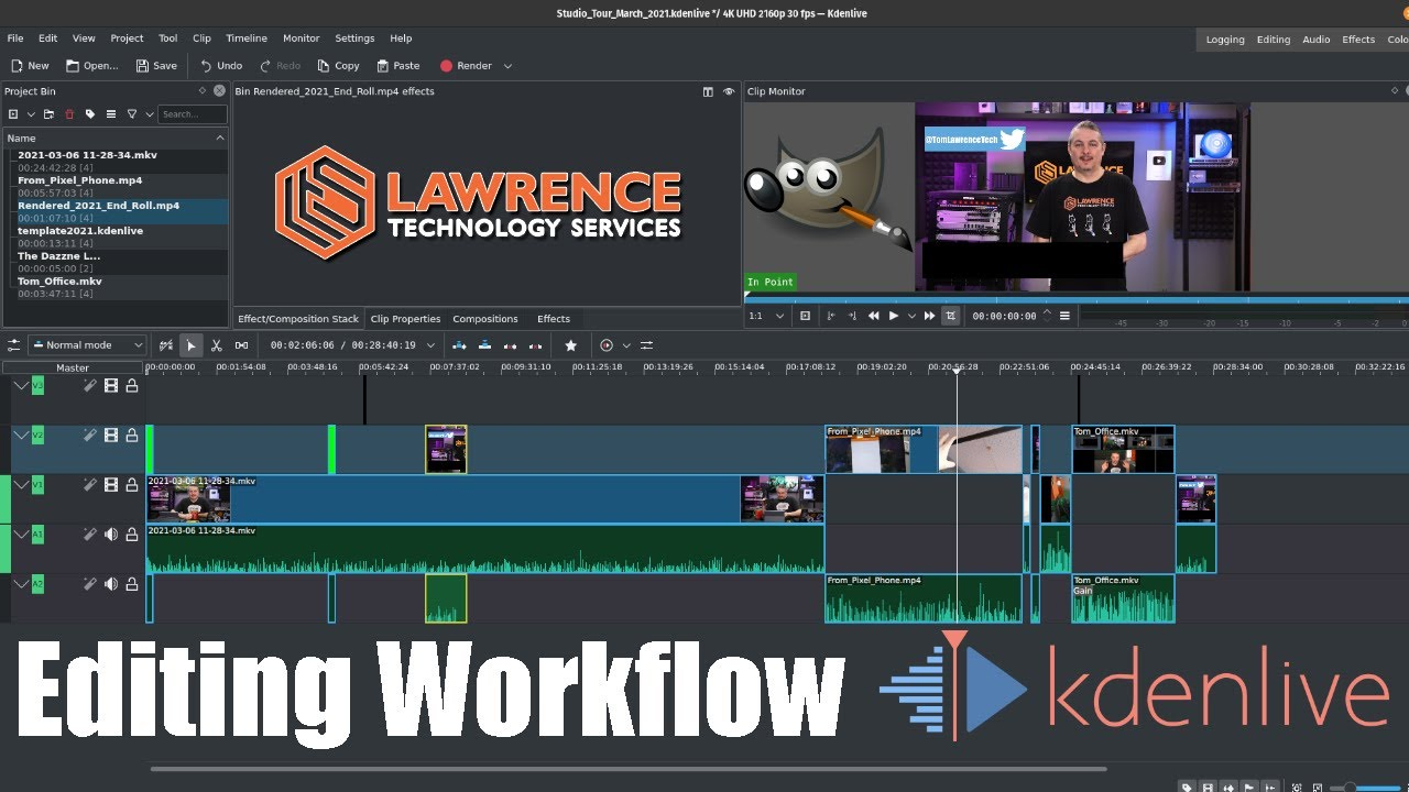 My March 2021 YouTube Video Editing Workflow