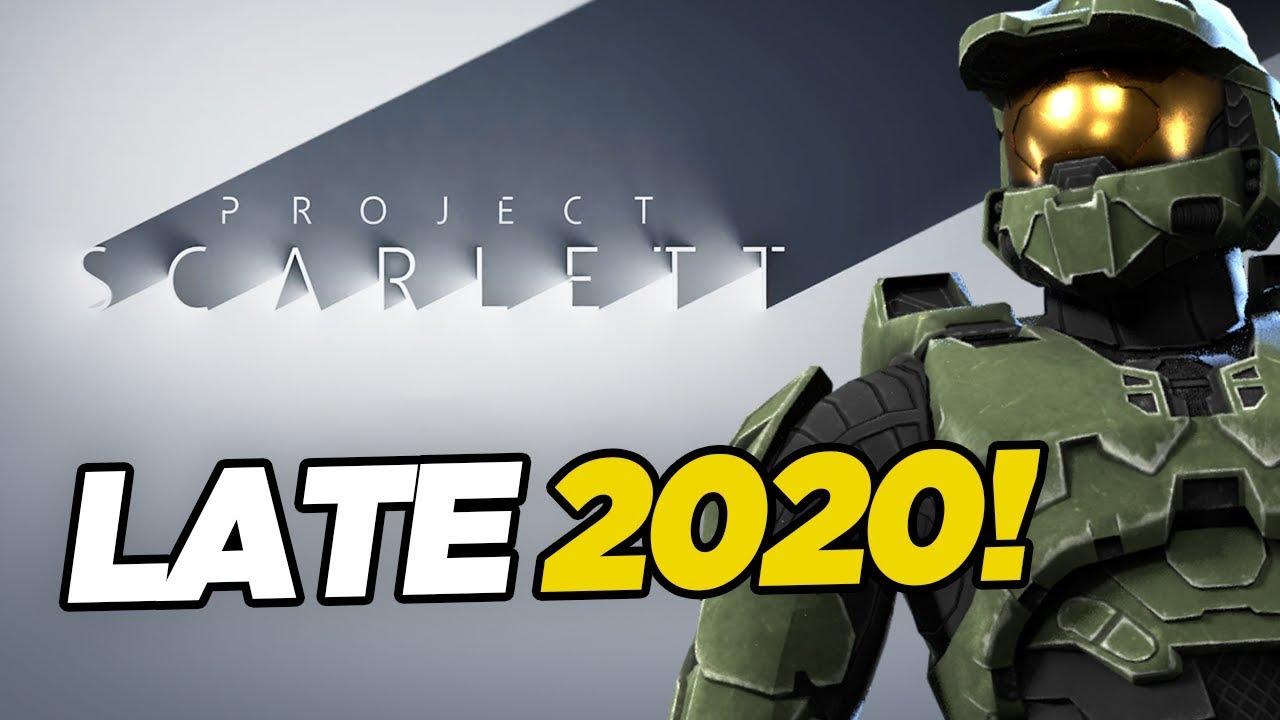 Xbox Scarlett für Ende 2020 bestätigt - alles, was wir wissen + video