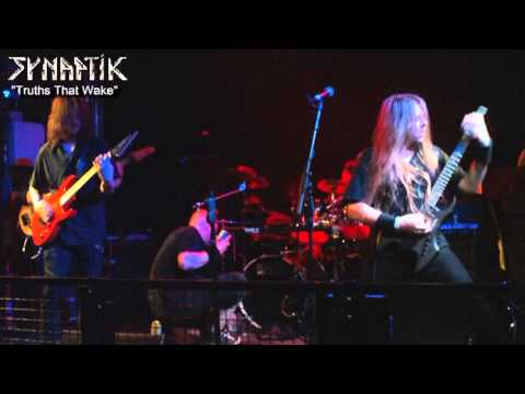 "SYNAPTIK ""Truths That Wake"" Live @ The Waterfront, Norwich, UK melodic prog death metal"