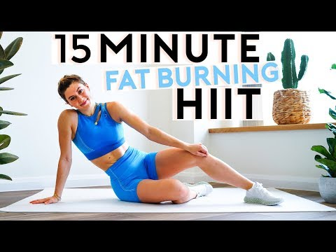 15 Minute Fat Burning HIIT Workout with No Equipment | Full Body at HOME or GYM