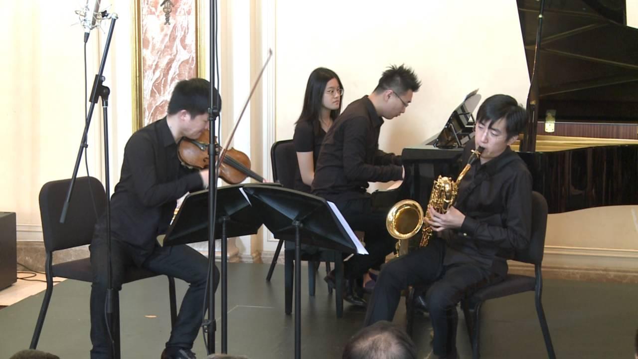 Tchaikovsky: Trio Op.50 - 1 - Wanchen Zhu & Runyin Zhang & Hanchao Jiang