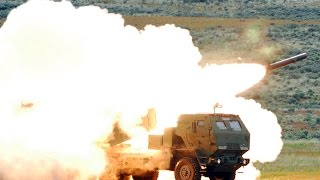 HIMARS Artillery Rocket System - US Rocket Launcher: Rocket Live Fire Exercise