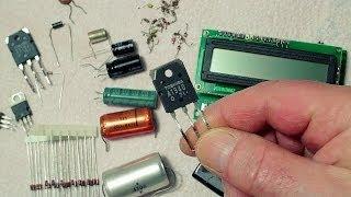 Transistor Tester Capacitor ESR Inductance Resistor Meter(Video und Schnitt Georg Z, www.99099erfurt.de ..., 2014-03-25T06:39:43.000Z)