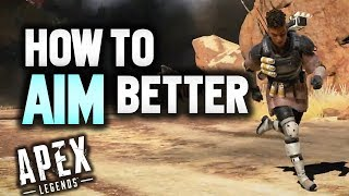How To Aim Better in Apex Legends (Xbox One) (PS4) | Best sensitivity settings for Apex Legends