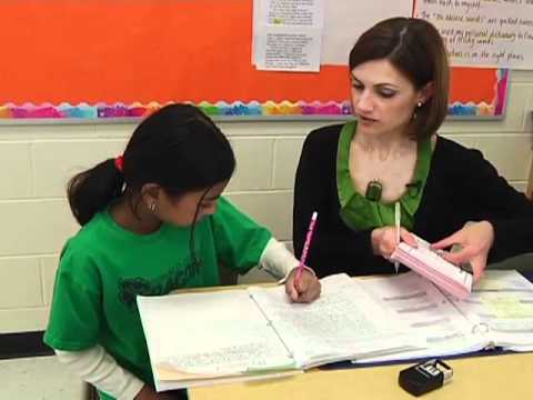 Precision Teaching: Writing Conferences Student and Teacher