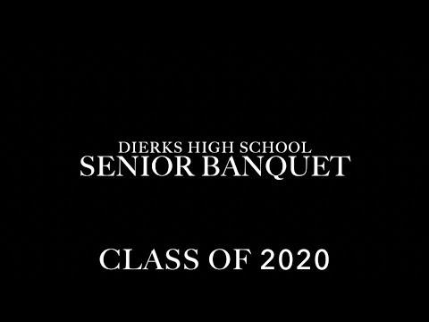 Dierks High School Senior Banquet 2020