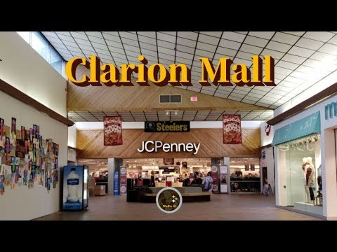 Dead Mall - Clarion Mall - Clarion, Pa