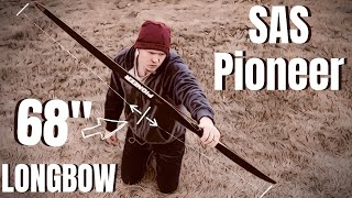 """A 68"""" Disappointing Longbow.  (SAS Pioneer Longbow Review)"""